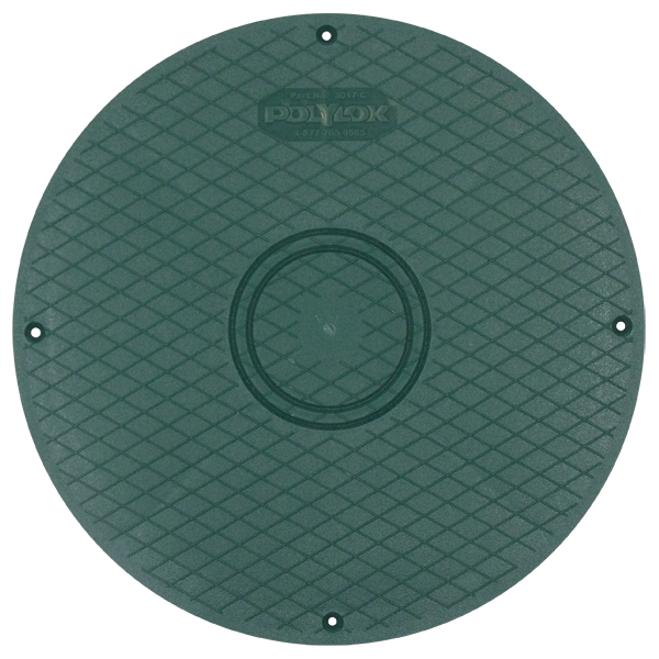 "Polylok 12"" Septic Tank Lid for Riser"